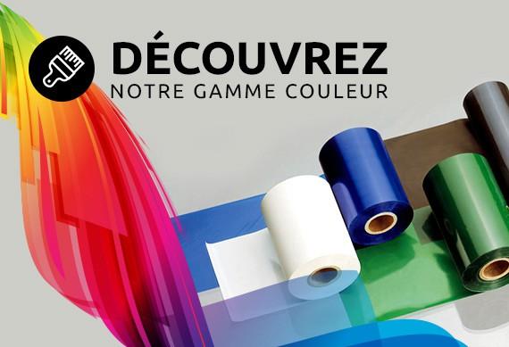Découvrez notre gamme couleur